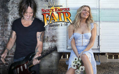 Sioux Empire Fair Will Have Keith Urban & LeAnn Rimes