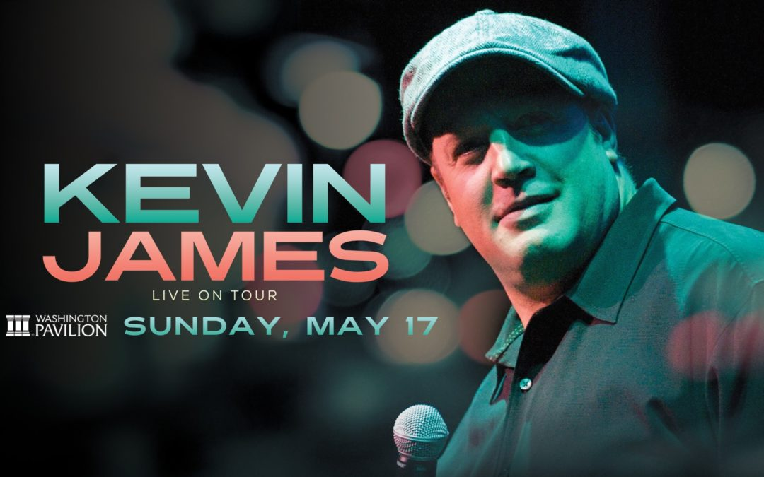 Actor/Comedian Kevin James is coming to Sioux Falls in May!